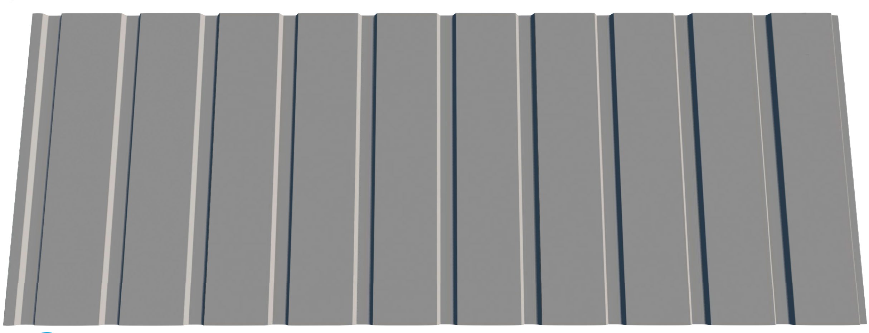 Trapezbleche T6 Dach